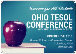 2016 Ohio TESOL Call for Proposals