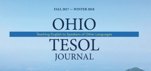 Ohio TESOL Journal Now Available
